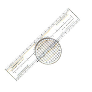 Règle de navigation rotative Jeppesen