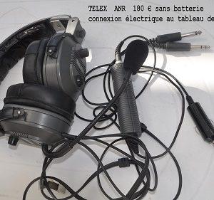 Headset TELEX ANR sans batterie